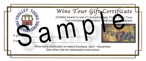 Gift Certificates wine