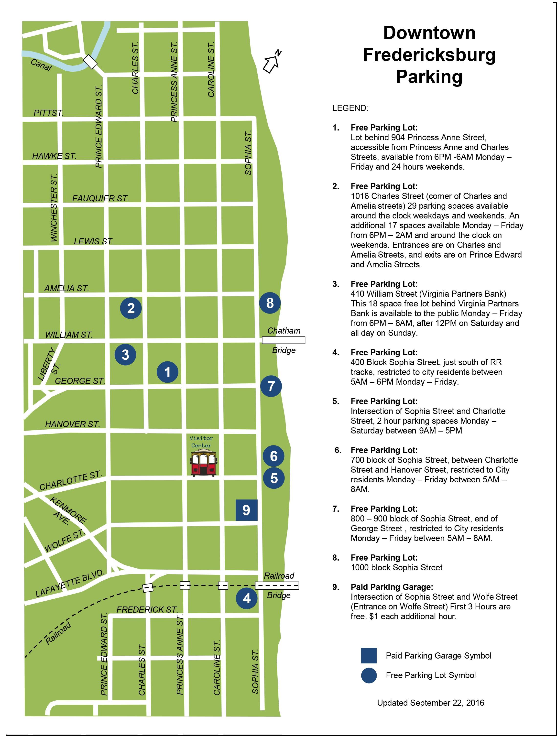 Fredericksburg Va Map >> Trolley Tours Of Fredericksburg Maptrolley Tours Of